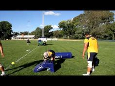 Western Force Rugby Drill of the Week - Sixteen - YouTube