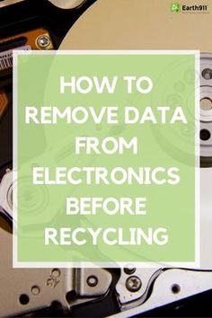 Recycling Facts, Recycling Information, Life Hacks Computer, Computer Help, Computer Tips, Computer Security, Computer Repair, Technology Hacks, Computer Technology