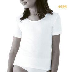 Camiseta niña manga corta thermal Princesa en PACK DE TRES UNIDADES. Perfecto termorregulador que mantiene tu cuerpo siempre a la misma temperatura.