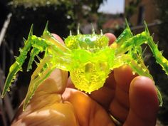 Amber Spider Collectible by TheMutantFactory on Etsy