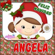 NombresEloisa.com: Muñeca con Nombres (Navidad 2)