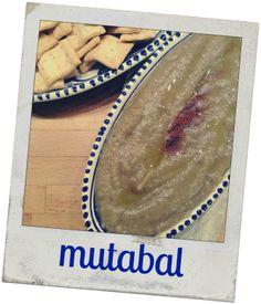 MUTABAL. Crema de berenjenas