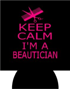 Beautician Koozies by CustomCreationsVinyl on Etsy, $3.75