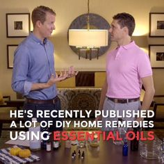 Check out Dr. Eric Z's favorite home remedies using essential oils on FMTV!  https://www.fmtv.com/series/home-remedies-with-dr-zielinski