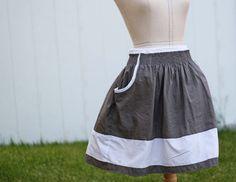 super cute skirt tutorial