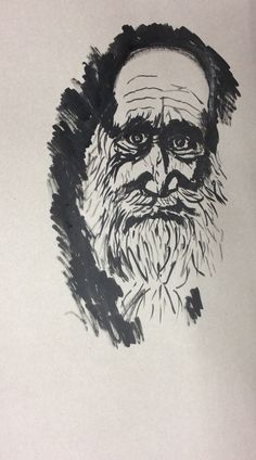ABK Mortsel - opdracht portret, werk van marc
