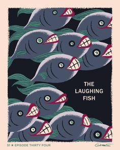 "Poster for Episode 34 of Batman The Animated Series ""The Laughing Fish"" by George Caltsoudas"