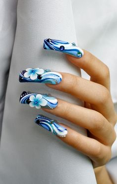 Nail Art by Pisut Masanong  #nail #nails #nailart