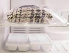 Stop sweaters from shedding by sticking them in the freezer overnight