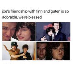 Joe's friendships
