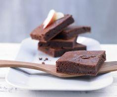 Rezept: Apfel-Brownies