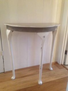 Demi Lune hall table, its a keeper!