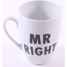 Mr Right, Cuppa Tea, Kaffee, Gifts