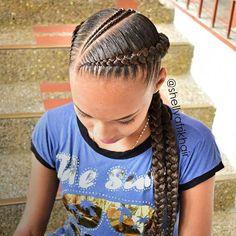 hairstyles going back hairstyles naija to cornrows braided hairstyles braided hairstyles for natural hair hairstyles boy hairstyles images hairstyles kinky twist hairstyles for 3 year olds Two Braid Hairstyles, Shaved Side Hairstyles, Braided Hairstyles For Black Women, African Braids Hairstyles, Girl Hairstyles, Two Cornrow Braids, Hairstyles Videos, Cornrolls Hairstyles Braids, Braided Locs