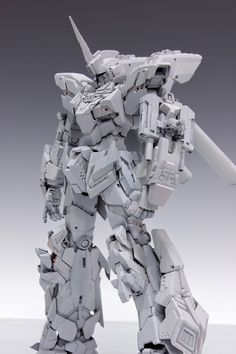GUNDAM GUY: MG 1/100 Unicorn Gundam Unit 3 Lock Ver. 1.1 - Awesome Build W.I.P. by Redbrick