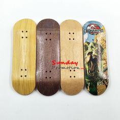Cute Wooden Deck Fingerboard Skateboard Sport Games Kids Toy Gift Maple Wood UK