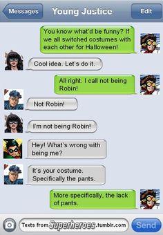 Texts From Superheroes - DC Flash, Batman, Young Justice, Titans Superhero Texts, Geeks, Comic Text, Dc Memes, Marvel Dc Comics, Marvel Fan, Detective Comics, Teen Titans, Funny Comics