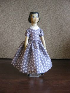 In Hitty: Her First Hundred Years , Dorothy Lathrop drew the delightful illustrations. Many of the illustrations depict Hitty in dresses tha. Old Dolls, Antique Dolls, Big And Beautiful, Beautiful Dolls, Peg Wooden Doll, Real Doll, White Caps, Kewpie, Everyday Dresses