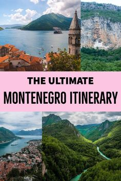 A comprehensive one week Montenegro itinerary covering the Old Towns of Kotor and Budva as well as Sveti Stefan day trips to national parks and Backpacking Europe, Europe Travel Tips, Travel Destinations, Travel Goals, Travel Eastern Europe, Budget Travel, Travel Packing, Travel Backpack, Time Travel