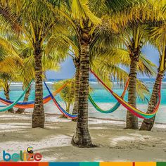 A perfect way to start your week.. #DiscoverBelize #HappyMonday #beachlovers.