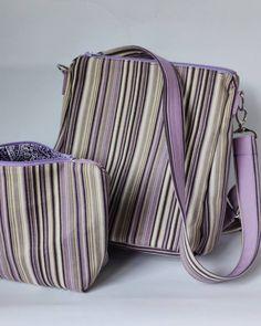 Лавандовый цвет— настоящее воплощение нежности, а полоска - это вечная классика в моде. На любителя конечно. На мой взгляд, сегодня это актуально. Креативно, притягивает взгляды и индивидуально.  Размер сумки-рюкзак: 26*22*11 Размер косметичка: 24*18*8 Подкладка: хлопок в тон Lavander, Caterpillar, Textiles, Throw Pillows, Classic, Collection, Derby, Cushions, Decorative Pillows
