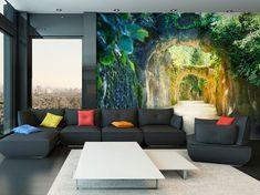 Fotokunst Wallpaper Wand Wandbilder nicht Woven von GlitterBlast