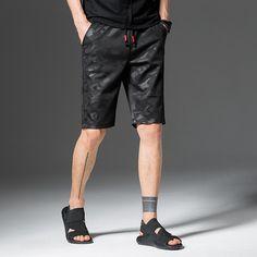 MEN High Quality Mens Casual Short Homme Militar Brand Summer Regular Knee Length Short Fashion Bermuda Male Plus Size