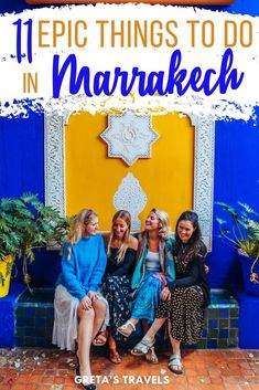 Looking for the best things to do in Marrakech? Discover these 11 unique experiences you must have in this beautiful Moroccan city. Kenya Travel, Morocco Travel, Africa Travel, Marrakech Travel, Beautiful Places To Visit, Cool Places To Visit, Amazing Places, Riads In Marrakech, Travel Destinations