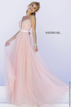 Sherri Hill 32229 Lace and Tulle Prom Dress