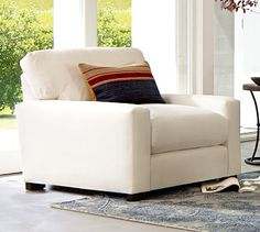 Turner Square Arm Upholstered Armchair Upholstered Arm Chair