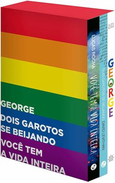 0e7cf94c2 Descrição Um kit com 3 romances juvenis LGBT. - George (144p.)