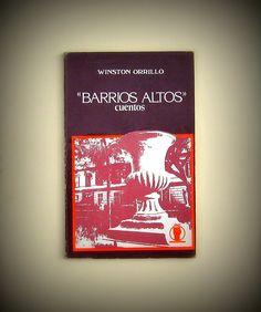 WINSTON ORRILLO  Barrios Altos (cuentos)  95 pags.    PRECIO 19 SOLES