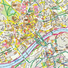 Newcastle South Cycle Map