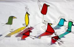 Stained Glass Bird Suncatcher Stained Glass Bird Stained