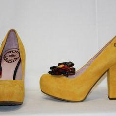 Fornarina Zapatos tacon serraje