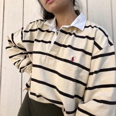 - DepopYou can find Polo ralph lauren and more on our website. Vintage Outfits, Retro Outfits, Cute Casual Outfits, Polo Shirt Outfit Women's, Polo Shirt Women, Polo Shirts, Polo Outfits For Women, Long Sleeve Polo Women, Collared Shirt Outfits