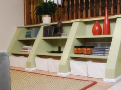 Get Creative - 10 Smart Design Ideas for Small Spaces on HGTV