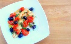 Pressure cooked mediteranian fish