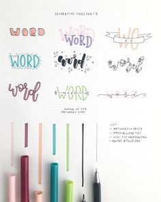 Bullet journal layout and bullet journal inspiration Bullet Journal Inspo, Planner Bullet Journal, Bullet Journal Headers, Bullet Journal Banner, Bullet Journal Aesthetic, Bullet Journal Writing, Bullet Journal Layout, Tittle Ideas, Journal Fonts