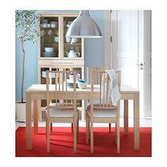 BÖRJE Chair - birch/Gobo white - IKEA