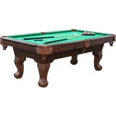 Attrayant Springdale 7.5u0027 Billiard Table With Accessory Rack   Sears