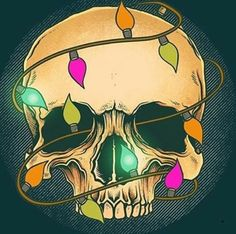 Dark art feelings posts Ideas for 2019 Dark Christmas, Halloween Christmas, Christmas Art, Christmas Ideas, Crismas Tree, Comic Cat, Crane, Tenacious D, Skull Wallpaper