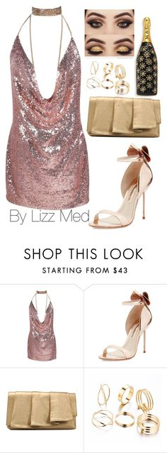 """Party 🎉"" by lizz-med ❤ liked on Polyvore featuring Sophia Webster, La Regale and Marc Jacobs"