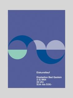 Eiskunstlauf - Otl Aicher  Lovely form created out of circles