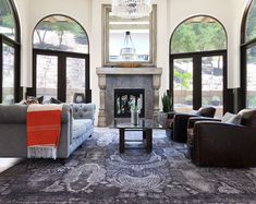 View SAMAD rug collections including Oriental rugs, Persian Rugs, and modern rugs in various room settings. Find the right designer rug for your style. Grey Rugs, Modern Rugs, Persian Rug, Oriental Rug, Carpets, Interior, Room, Furniture, Design