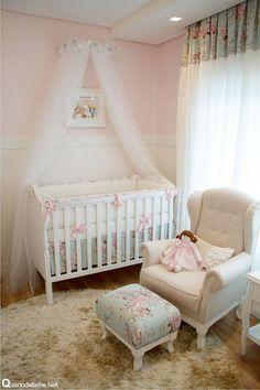 Decoração de Quarto de Bebe: Menina