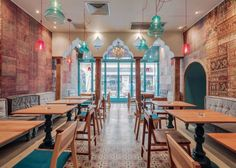 Divan Restaurant- A Turkish Restaurant in Bucharest's Old Town, Romania | http://www.designrulz.com/design/2015/08/divan-restaurant-bucharest-romania/