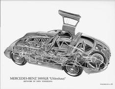 Mercedes Benz 300 SLR Uhlenhaut