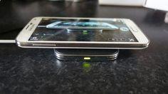 Acesoriu de incarcare wireless pentru Galaxy S5