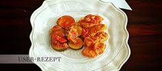 Putenfilet mit Zucchini in Tomatensoße